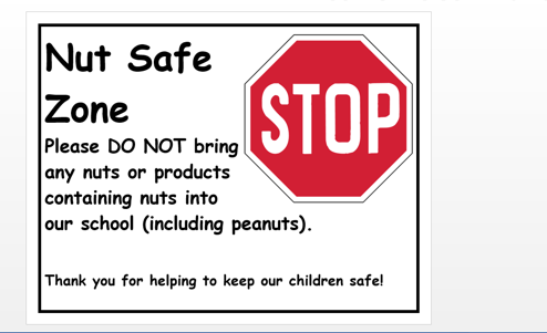 nut safe zone picture